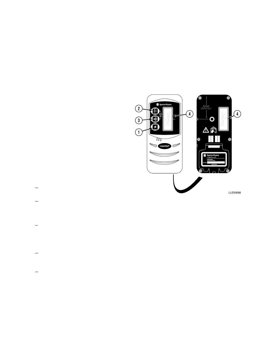 1275 laser receiver location and description of major